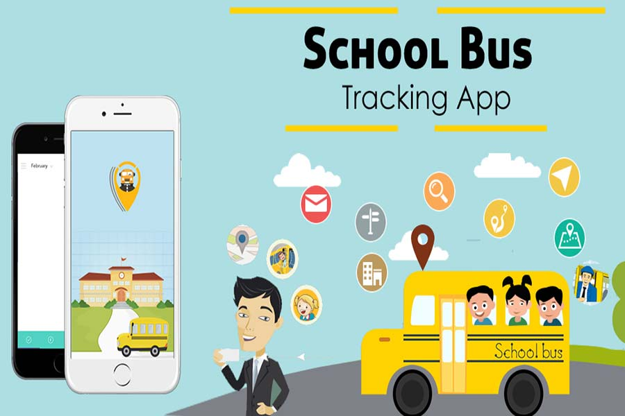 School-bus Tracking Mobile App