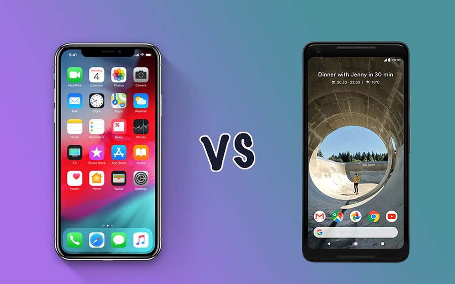 IOS compared to Android
