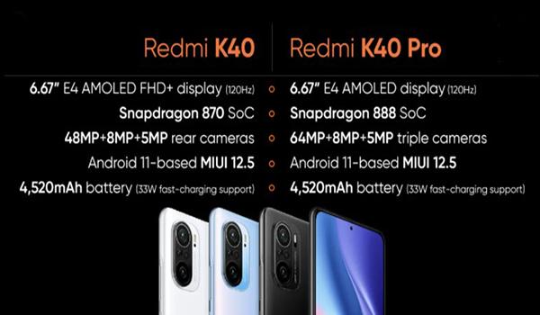 How is Redmi K40 is better